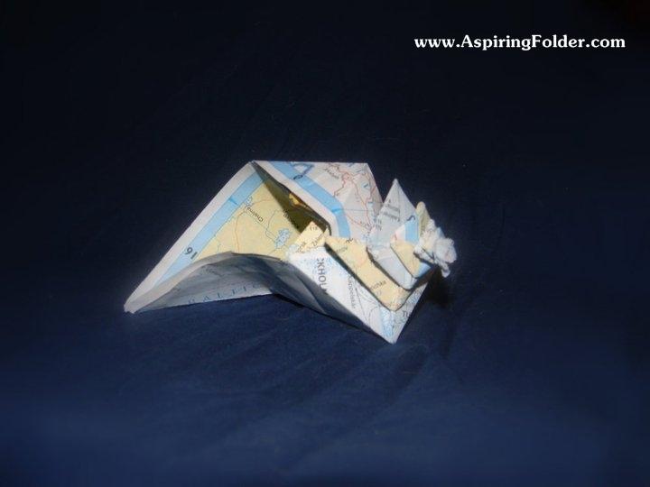 Origami Snail Tutorial - Designed by Eric Gjerde - Paper Kawaii ... | 540x720