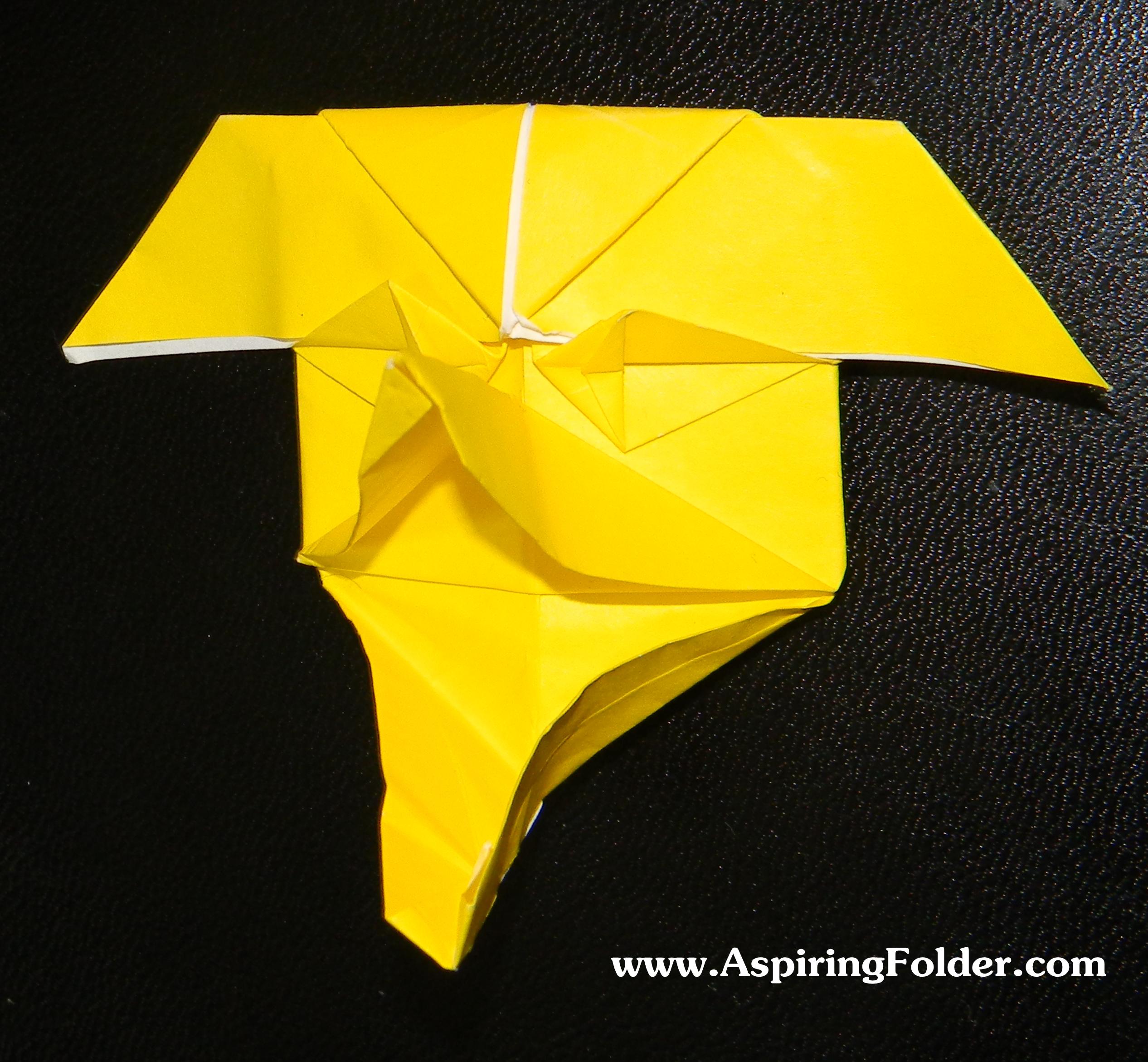 origami mask aspiring folder
