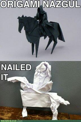 Funny Origami Picture