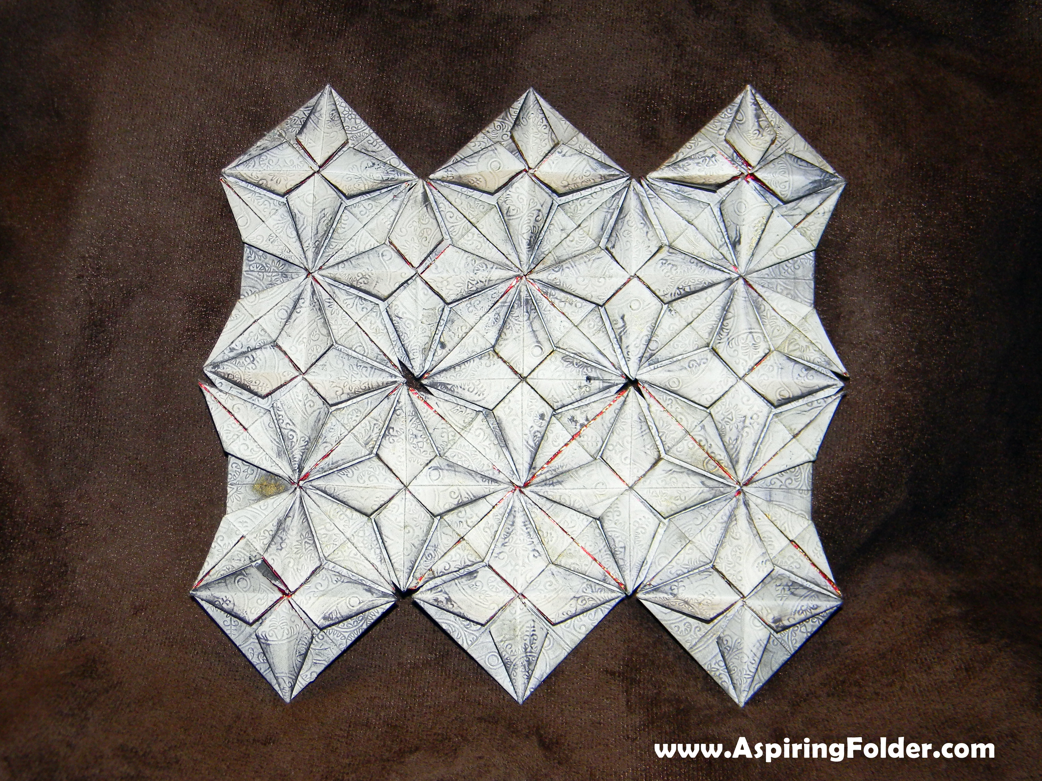 Easy Origami Quilt | Aspiring Folder - photo#11