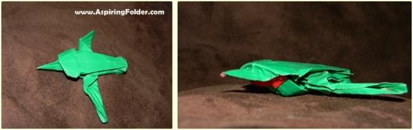 Lang's Origami Hummingbird