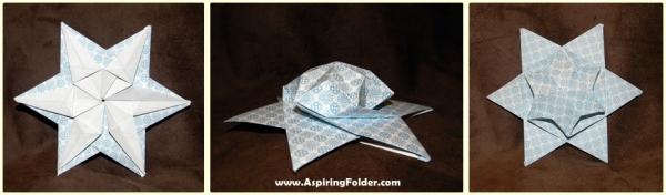 Origami Puff Star