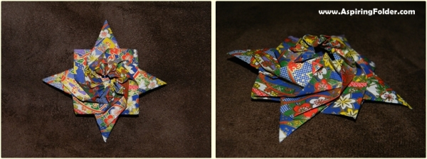 Origami Nautical Star