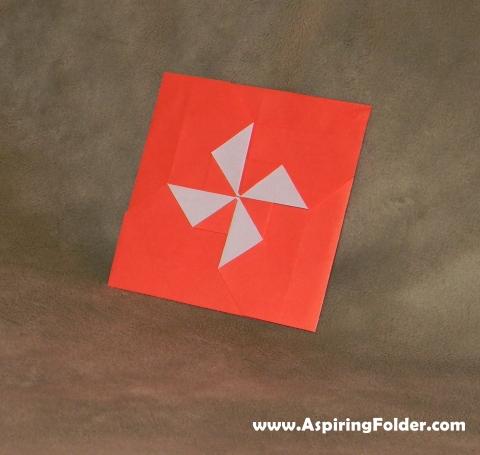 origami wheel